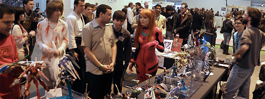 Expositions de maquettes Gundam