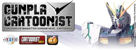 GUNPLA CARTOONIST - FORMULAIRE D'INSCRIPTION